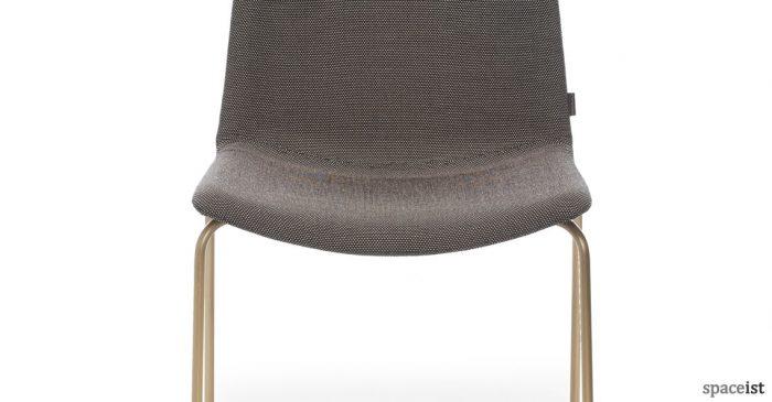 ... Weet Chair With A Antique Brass Leg