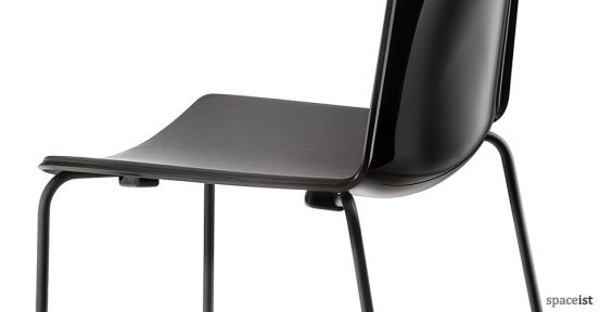 Weet black meeting room chair
