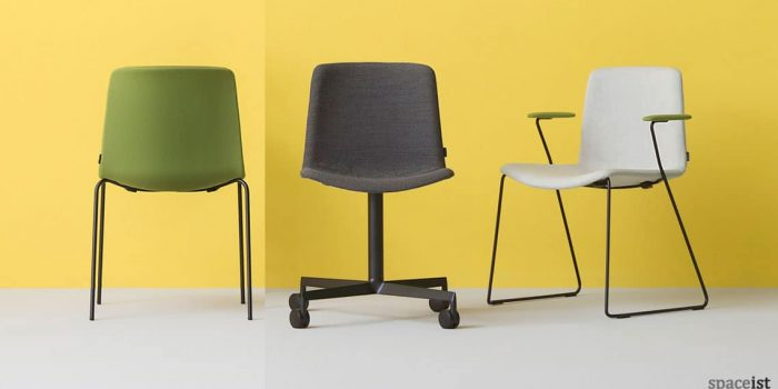 Weet green meeting chair