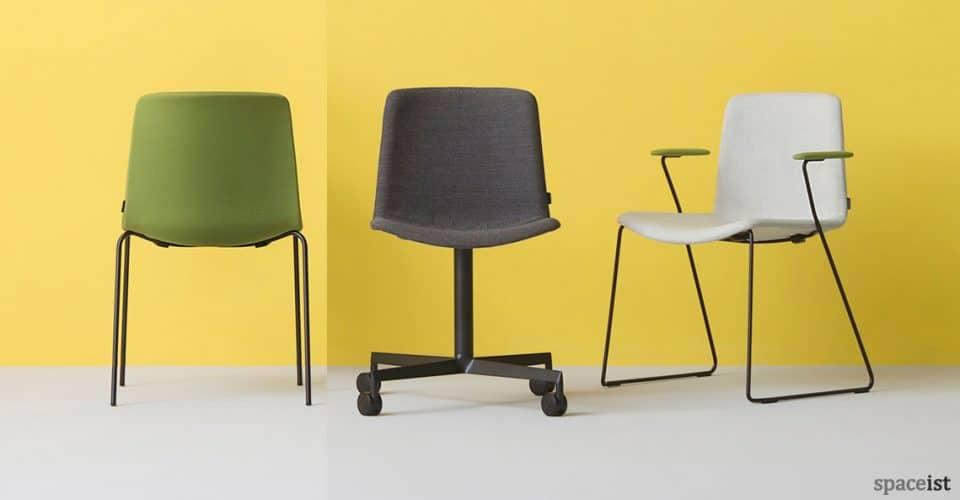 Weet green meeting chair