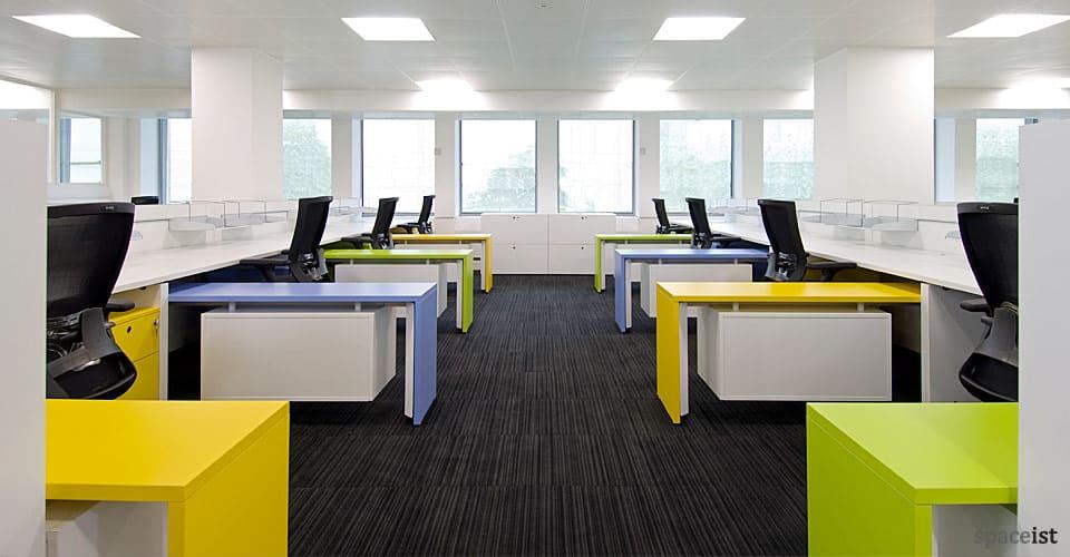 xl bench desk colours