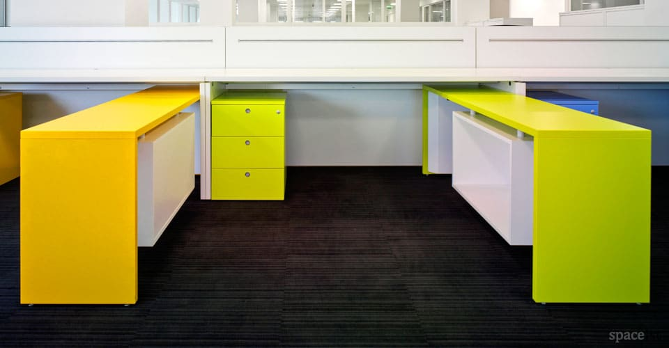 xl colourful office storage