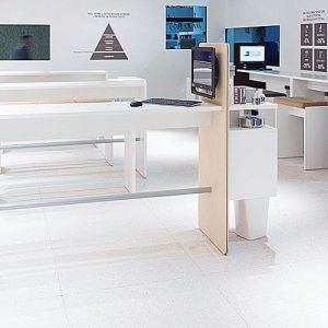 XL high meeting table and bench