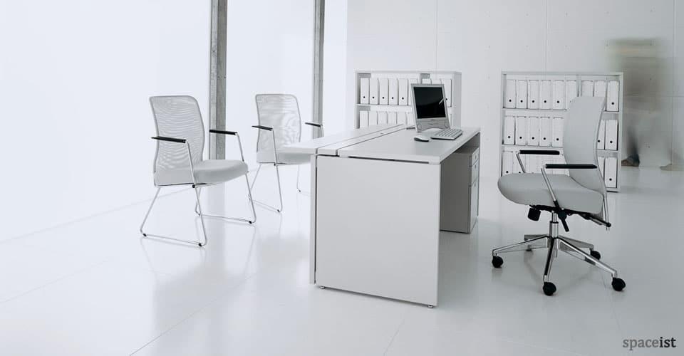 XL long modern reception desk