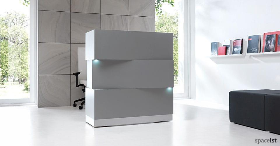 Reception Desks Zen Block Desk New