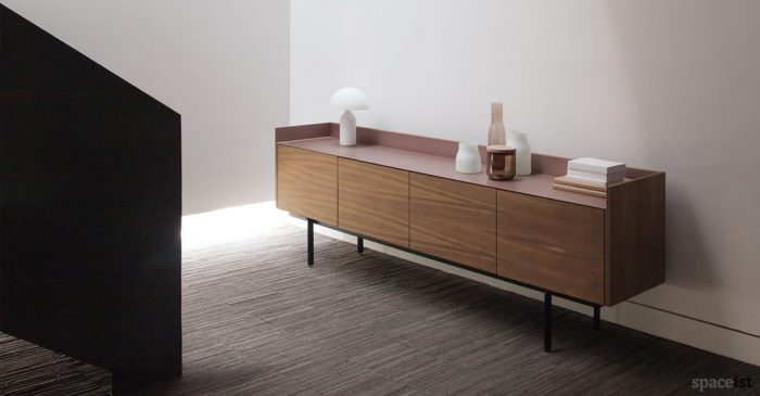 super matt walnut sideboard location
