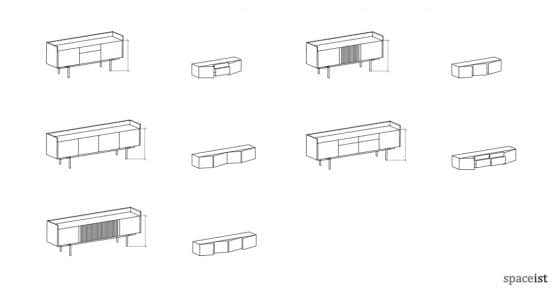 stockholm sideboard technical specifications